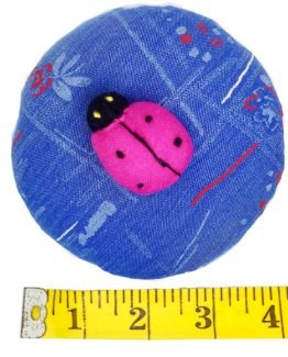 Emery Pin Cushion 10oz Keep Needles Clean Sharp Needle Storage Organizer – Ladybug D