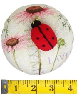 Emery Pin Cushion 10oz Keep Needles Clean Sharp Needle Storage Organizer – Ladybug R