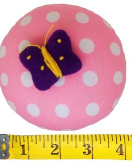 Emery Pin Cushion 10oz Keep Needles Clean Sharp Needle Storage Organizer Butterfly p